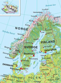 Trondheim, Stavanger, Swedish Language, Narvik, Social Science, Social Studies, Geography, Stockholm, Sweden