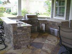 Big Outdoor Kitchen Outdoor Kitchen Craig Design Group Chattanooga, TN