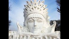 Harbin International Ice and Snow Festival: 2018 in China. Harbin, Around The Worlds, Ice, Snow, China, Ice Cream, Porcelain, Eyes, Let It Snow
