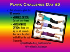 Here's your daily post for my 30-day plank challenge! Follow it on Pinterest, Instagram, or Facebook. Be sure to comment when you complete the daily challenge. www.Facebook.com/ChristinaFryeTeamBeachbodyCoach