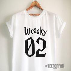 Harry Potter Shirt Harry Potter Merchandise Ron Weasley T Shirt Clothes Quidditch Jersey Top Tee for Women Girls Men