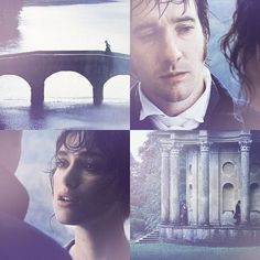 That moment where they think they do not like each other,but then something inside their heart pulls and for that one moment they know they love each other......---- Pride and Prejudice