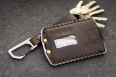 Youth ever New Mens Boys Classic Leather Pockets Credit//ID Cards Holder Purse Wallet Carteras de mano