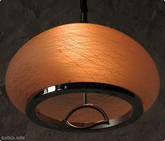 Lámpara de techo vintage años 70