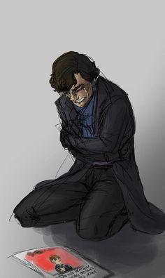 The article says 'John Watson clears Sherlock's name' OOOOO the feels...