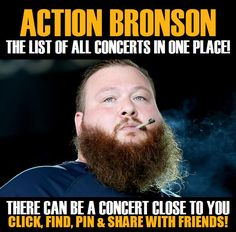 Action Bronson in your city! Concerts dates & tickets. #music, #show, #concerts, #events, #tickets, #Action Bronson, #rock, #tix, #songs, #festival, #artists, #musicians, #popular,  Action Bronson