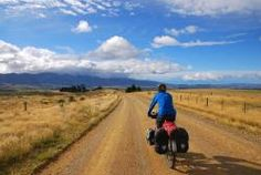 new zealand open skies Cross Country Bike, Country Roads, New Zealand Tours, Ebook Cover, Touring Bike, Vacation Packages, The Great Outdoors, The Dreamers, Adventure