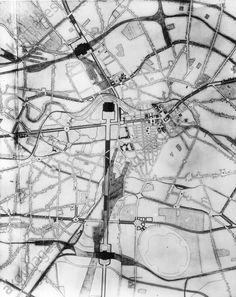 Projektierung Ost-West-Achse/Zeihn.A.SPeer 1937-38