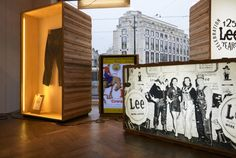 Lee x Bellerose anniversary windows by frank agterberg/bca, Brussels