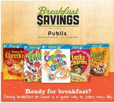 Publix $25 Giftcard - Breakfast Savings
