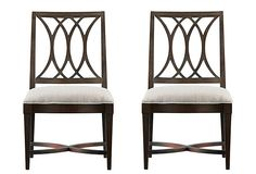 Coastal Heritage Side Chairs, Pair on OneKingsLane.com by stanley $699 for pair