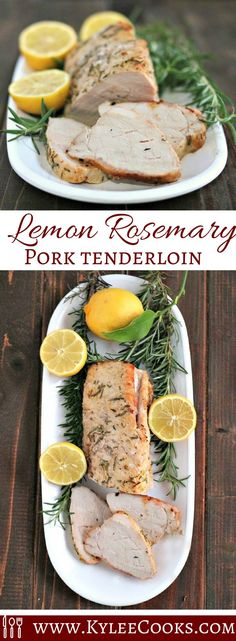 So, how about this pork tenderloin? It's a simple, light and fresh rub on the pork, roasted for about 45 mins, rested for 10 – then sliced and devoured.