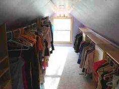 wardrobe space in loft