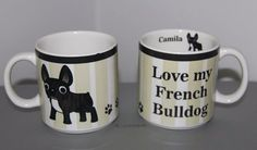 Caneca personalizada para uma apaixonada por Bulldogs
