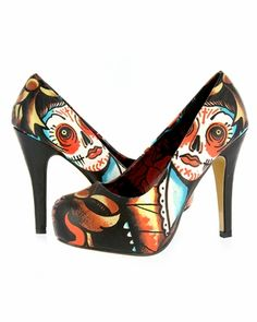 Snatched these for 12$ during the IF 60% off sale. Love the vintage sugar skull look