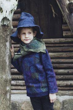 Wool Yarn, Merino Wool, Terry Towel, Wet Felting, Sweater Design, Girls 4, Sweater Jacket, Wool Coat, Wearable Art