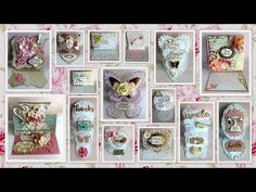 Easel cards tutorial with and without dies - YouTube
