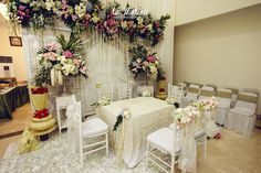 New flowers backdrop diy brides Ideas Boquette Wedding, Diy Wedding Video, Wedding Mandap, Indoor Wedding, Wedding Venues, Trendy Wedding, Wedding Images, Wedding Dresses, Javanese Wedding