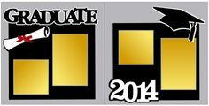 Graduate 2014 scrapbook pagekit. $8.00 www.goingtothrive.com