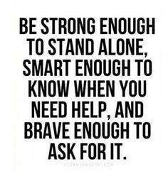 Not always easy...