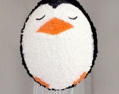 Peggy the Penguin Piñata