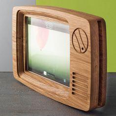 retro tv frame for ipad by squarepear furniture | notonthehighstreet.com
