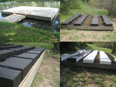 Floating Docks for Lakes and Ponds | Universal Foam Products