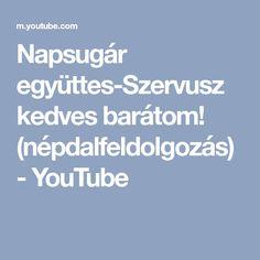 Napsugár együttes-Szervusz kedves barátom! (népdalfeldolgozás) - YouTube Keto, Youtube, Youtubers, Youtube Movies