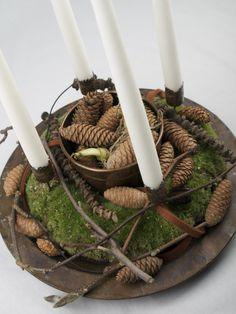 Adventskranse, juledekorationer, brugskunst og andre skønne sager hos Krukkerne