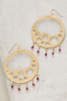 Bubbled Briolette Earrings - anthropologie.com
