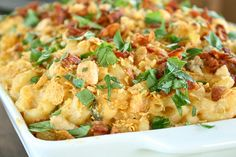 Jalapeno Popper Buffalo Chicken Macaroni and Cheese