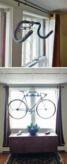 Cool bike holder