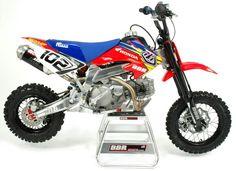 Dream build! BBR Honda crf 50 pitbike Pit Bike, Small Motorcycles, Chevy Pickup Trucks, Motocross Bikes, Kids Ride On, Transporter, Dirtbikes, Honda Cr, Go Kart