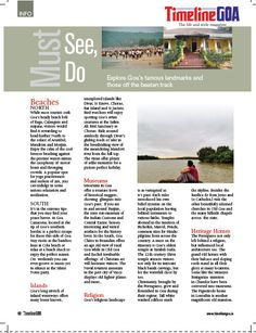 Learn more about places to visit in Goa for both locals and tourists. Read the full article on Timeline Goa Magazine Vol 2 Issue 6… Now on stands….To Subscribe Call: 8888848098 or Visit www.timelinegoa.in. #GoaPlaces #GoaMuseums #TimelineGoa #Goa #GoaTimeline #Magazine #LifestyleMagazine #GoaMagazine #Volume2 #Issue6 #OnStandsNow #AvailabeOnFlipkart #AvailableOnAmazon #AvailabeOnEbay #AvailableOnMagzter #AvailabeOnInfibeam #AvailableOnRockstand.in #MagazineAdvertising #GoanMagazine…