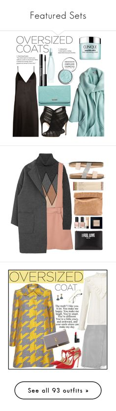 """Featured Sets"" by polyvore ❤ liked on Polyvore featuring Calypso St. Barth, Raey, Dolce&Gabbana, Roxy, Donna Karan, Obsessive Compulsive Cosmetics, Clinique, Prada, MANGO and Bobbi Brown Cosmetics"