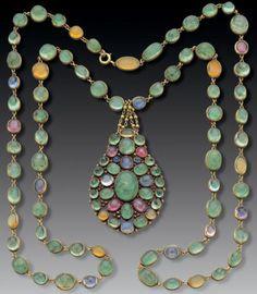 Necklace Louis Comfort Tiffany, 1900, Tadema Gallery