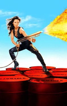 Lucy Liu as Alex Munday in Charlie's Angels: Full Throttle (2003)
