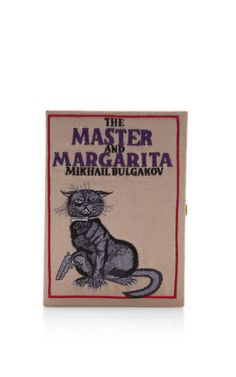 The Master And Margarita Book Clutch by Olympia Le-Tan for Preorder on Moda Operandi
