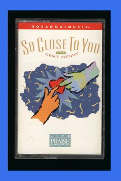 Hosanna Music -So Close To You (Cassette Tape 1997) (VG) Live Praise Worship CCM