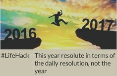 This year resolute in terms of the daily resolution, not the year Image: bulp.tk Picture quote made using ProPOST app.