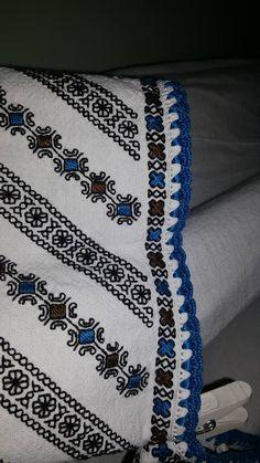 Ukraine, from Iryna Cross Stitch Embroidery, Embroidery Patterns, Hand Embroidery, Types Of Stitches, Clothing Patterns, Romania, Blackwork, Ukraine, Crochet