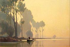 Alexandre-Louis Jacob | Landscape painter | Tutt'Art@ | Pittura * Scultura * Poesia * Musica |