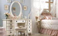 Girly bedroom HD wallpaper