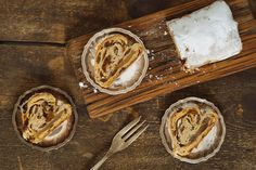 Learn How to Make Gluten Free Stollen Mini Loaf With This Recipe - Mossy Rock - Holidays Gf Recipes, Almond Recipes, Dairy Free Recipes, Dessert Recipes, Gluten Free Carrot Cake, Gluten Free Treats, Gluten Free Desserts, Coconut Flour Desserts, Cream Cheese Recipes