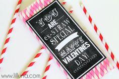 You are Ex-STRAW Special Valentine. Free print on { lilluna.com } #valentines