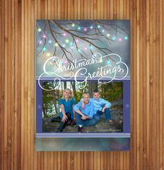 Start a new tradition with JL Original Designs Holiday Photo cards.  Browse our online collection on Etsy or let us custom create a design just for you!