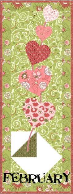 BOM freebie - love the idea Table Runner And Placemats, Table Runner Pattern, Quilted Table Runners, Quilting Tutorials, Quilting Projects, Quilting Designs, Sewing Projects, Small Quilts, Mini Quilts