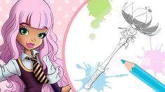 Regal Academy, Muse Art, Game Item, Coloring Sheets, Rapunzel, Calendar, Arts And Crafts, Princess Zelda, Joy