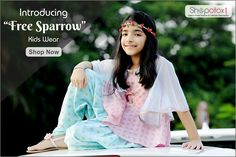 Introducing freeSparrow exclusive collection for kids only on shopotox.com...Shop now #onlineshopping #kidsfashion #kidswear #trendy