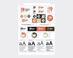 Logo design for gourmet origins #design #logo #website